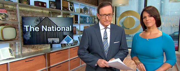 CBS shines the spotlight on The National