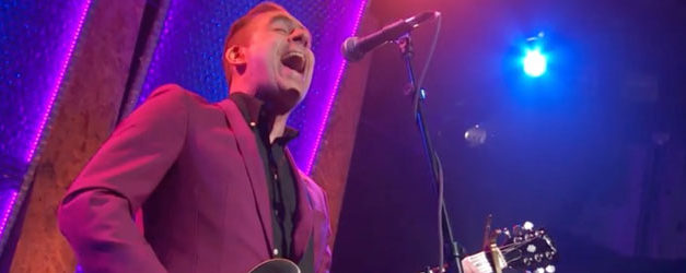 It's TRU, Ted Leo was on TV