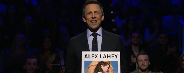 Seth Meyers would welcome Alex Lahey Every Day