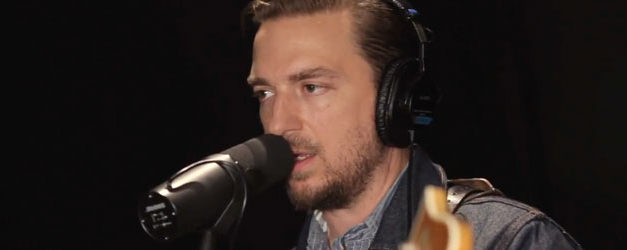 JD shows off his Lips at WFUV