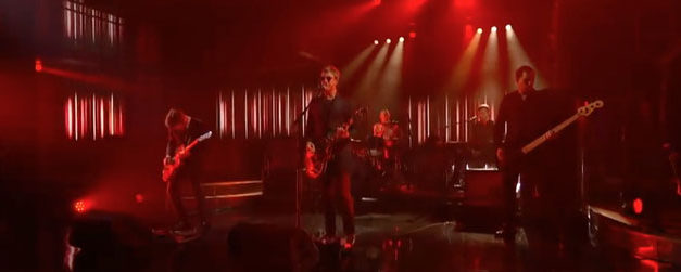 The Late Show hosts Interpol