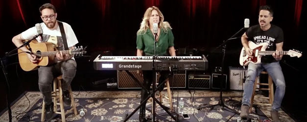 Lucie Silvas gets to hang at the Paste Studios