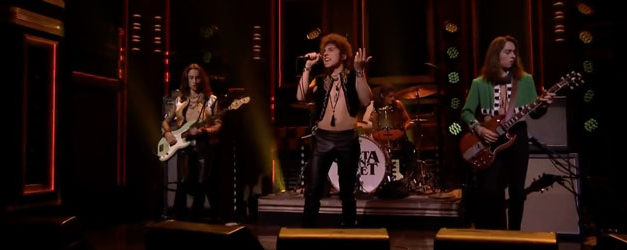 Jimmy Fallon welcomes Greta Van Fleet