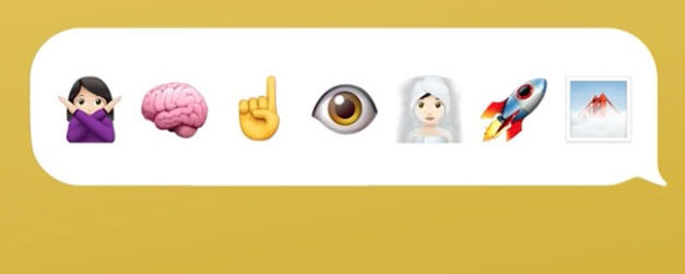 Sister Sparrow is sending you emoji