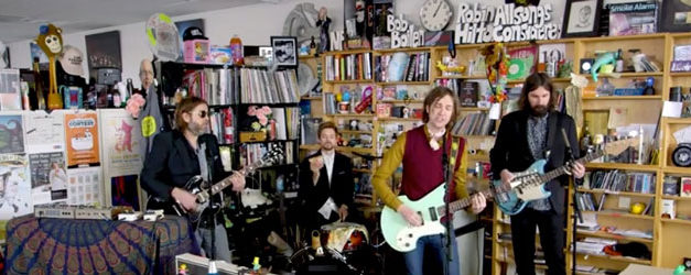 Aaron Lee Tasjan makes a big splash for Tiny Desk