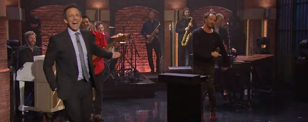 Guster is Overexcited to play on Seth Meyers