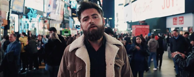Passenger hits Times Square for his Survivors video