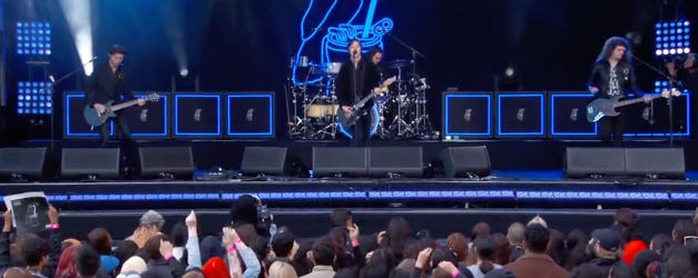 Catfish and The Bottlemen rock Kimmel's stage