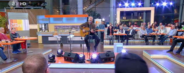 James Morrison shows his Love on German TV