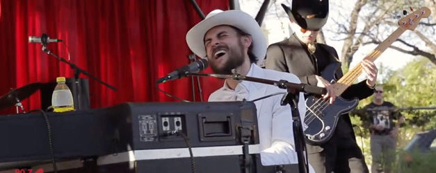 Robert Ellis kicked it with WFUV at SXSW