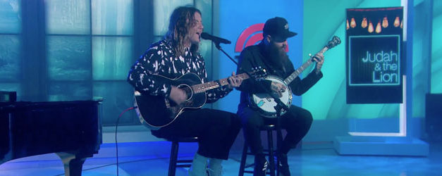 Judah & The Lion strip down on The TODAY Show