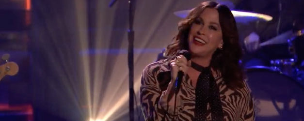 Alanis returns and Fallon is happy to see her