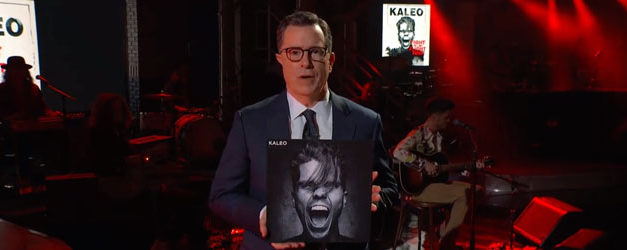 Colbert welcomes Kaleo