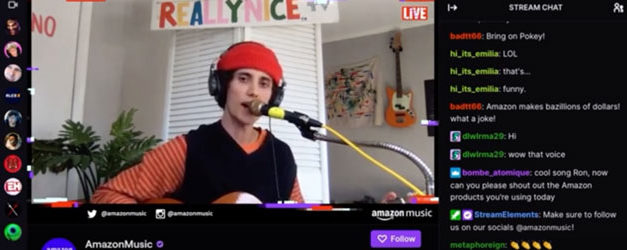Ron Gallo gets Twitchy