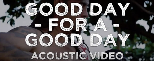Michael Franti has an acoustic Good Day